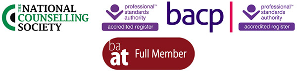 NCS BACP BAAT Profesional Menbership Logos